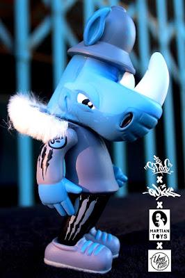 Umi Toys Hawaii Exclusive Rumpus TEQ Bat Pigs Edition Vinyl Figure by Scribe x Quiccs x Martian Toys