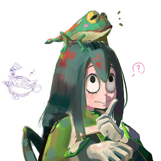 green frog tell moral story