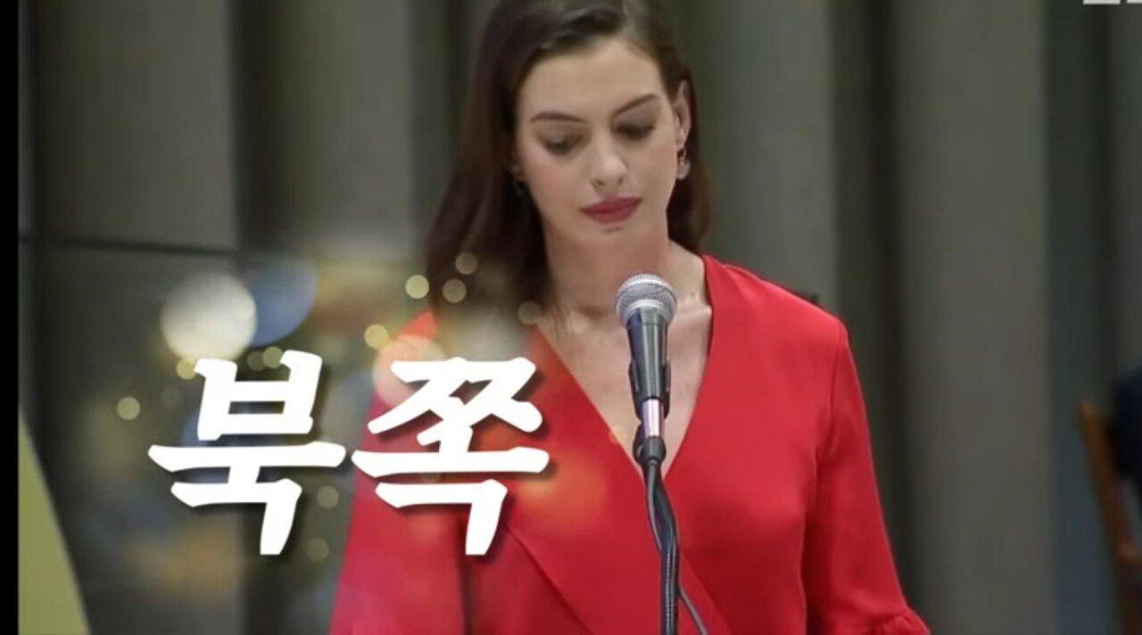 앤 해서웨이 세계 여성의 날 UN 연설