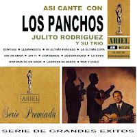 Resultado de imagen para Los Panchos - Así Canté con los Panchos - Julito Rodriguez.