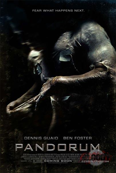 Pandorum (HD 720P y español Latino 2009) poster box code
