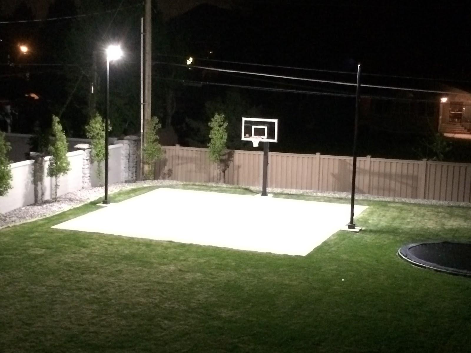 DBunk: Backyard Basketball Court Lighting
