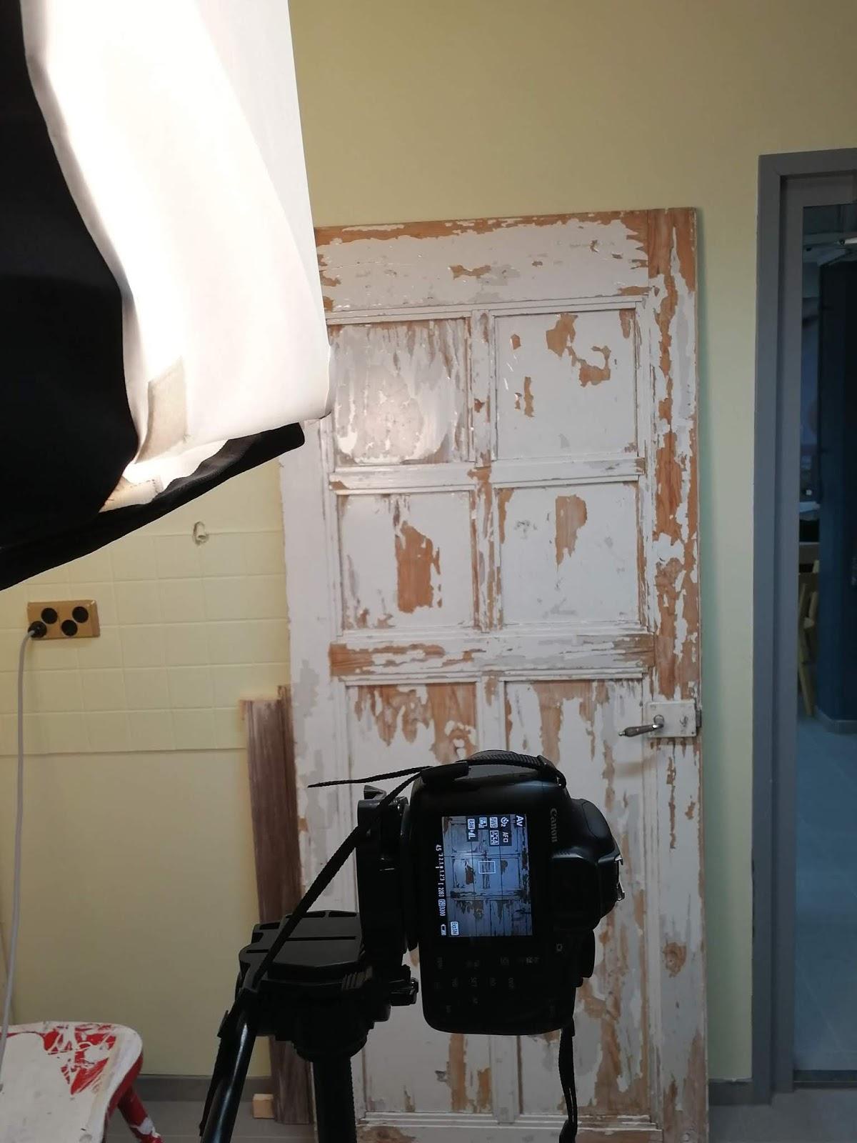 ovi tausta kuvausvalo kamera