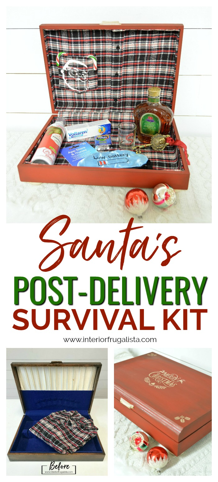 Santa's Post Delivery Survival Kit