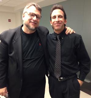 Tony Timpone with Academy Award-winner Guillermo del Toro