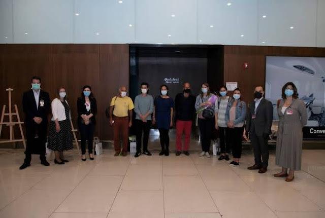 Médicos franceses llegan para ayudar en Armenia