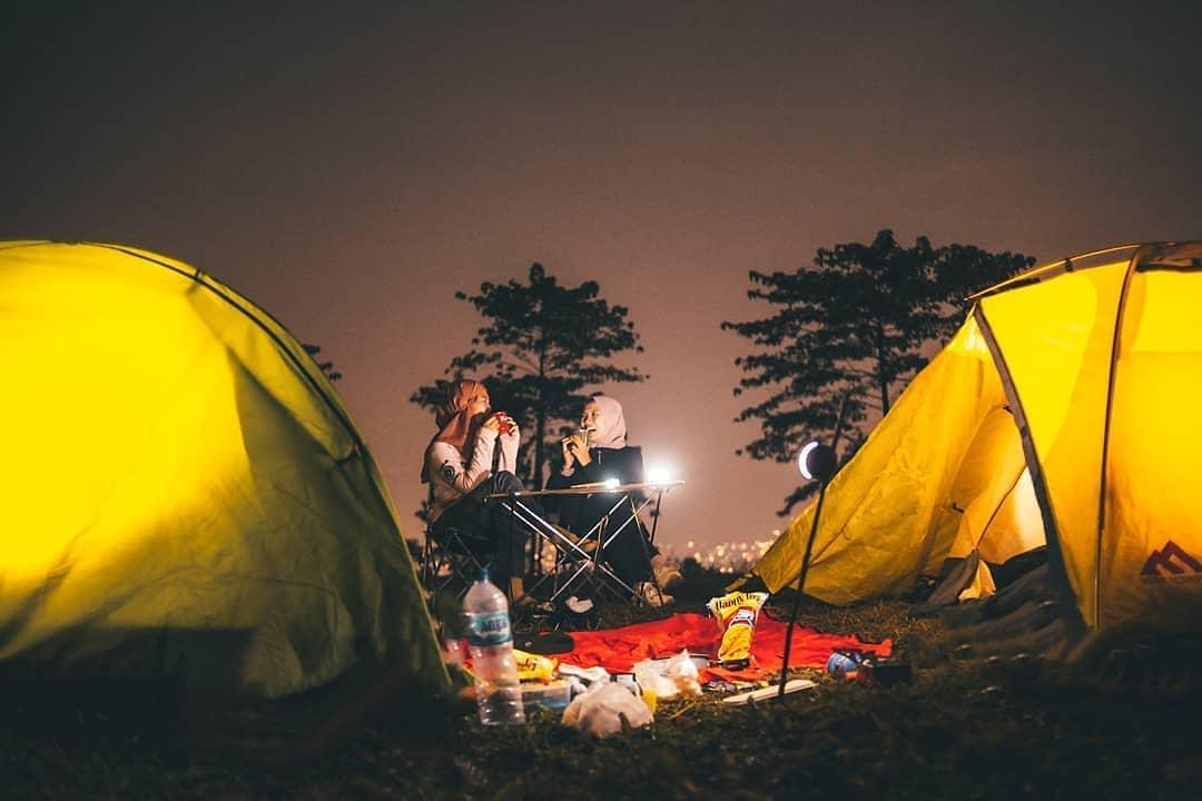 spot foto camping gayatri citeko