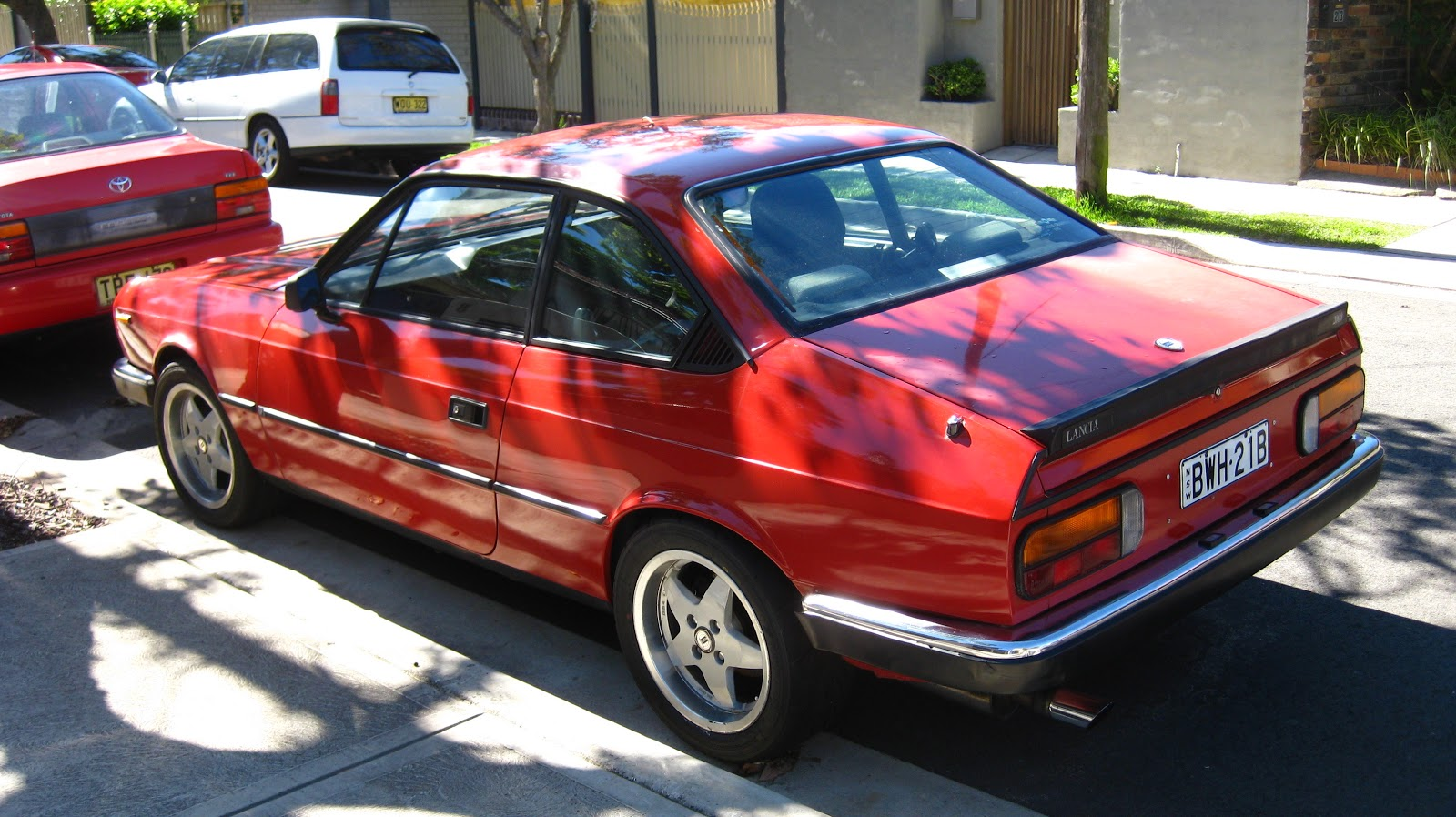 Aussie Old Parked Cars  1984 Lancia Beta 2000 Coupe