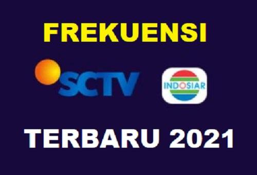 Frekuensi SCTV dan Indosiar Terbaru 2021