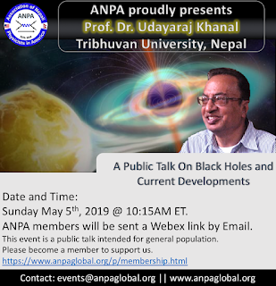 Public Talk on Black Holes and Current Developments by Prof. Dr. Udayaraj Khanal