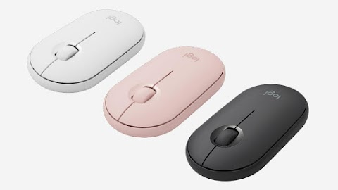 Logitech Announces Launch of Logitech® Pebble Wireless Mouse M350