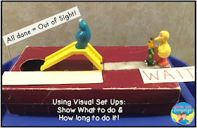 Shoebox play skills for autism- tips from Looks Like Language!