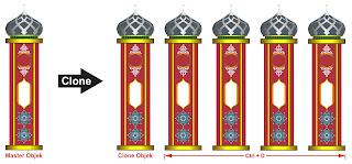 Fungsi Clone Tool CorelDraw