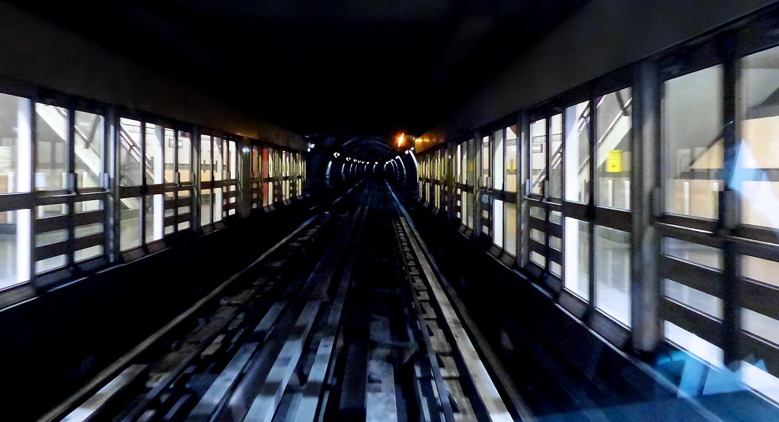 Métro Mercure Tourcoing - Voies, rails