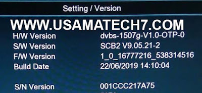 1507G NEW SOFTWARE | 1507G SCB2 RECEIVER SOFTWARE UPDATE