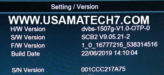 1507G NEW SOFTWARE | 1507G SCB2 RECEIVER SOFTWARE UPDATE - Usama