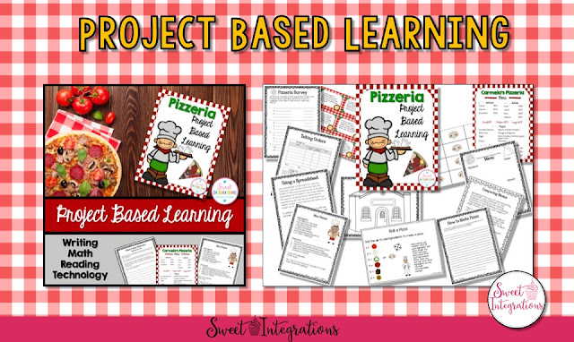 Help your students improve math skills with real-world activities. Let students calculate orders, estimate, use a spreadsheet, and more. They'll learn so much! Your 1st, 2nd, 3rd, and 4th grade students will fall in love with this project based learning unit. It's a great way for them to get real life skills in a fun, engaging manner. Click through now to see all the details. {first, second, third, fourth graders, PBL, real world, real-life, creative writing, fractions}