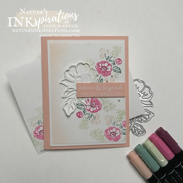 By Angie McKenzie for Ink.Stamp.Share Monthly Blog Hop; Click READ or VISIT to go to my blog for details! Featuring the Shaded Summer Cling Stamp Set in the 2021-2022 Annual Catalog PLUS the Coordinating Summer Shadow Dies from the August-September Sale-a-Bration Brochuere by Stampin' Up!® using the Stampin' Write Markers for stamping a card and envelope; #stampinup #cardtechniques #cardmaking #shadedsummer #summershadows #stampingwithmarkers #friendshipcard #hufftechnique #handmadecards #diycards #aboveandbeyond  #stampingtechniques #stampinupincolor #inkstampsharemonthlybloghop #naturesinkspirations