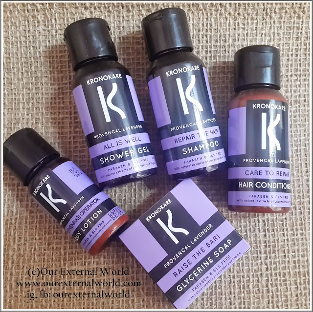Kronokare Provencal Lavender Bath & Body Products