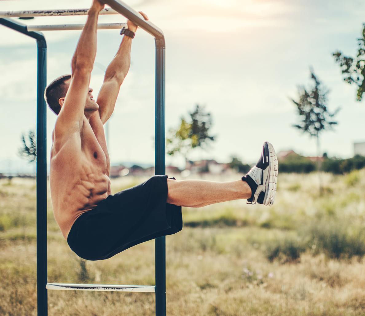 Hanging Leg Raise | Health and Fitness Bible