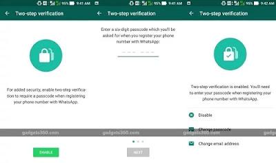 Whatsapp पर Two-Step Verification Feature के बारे में जानिए?