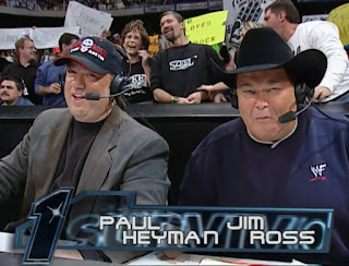 WWE / WWF Survivor Series 2001 - Paul Heyam and Jim ross