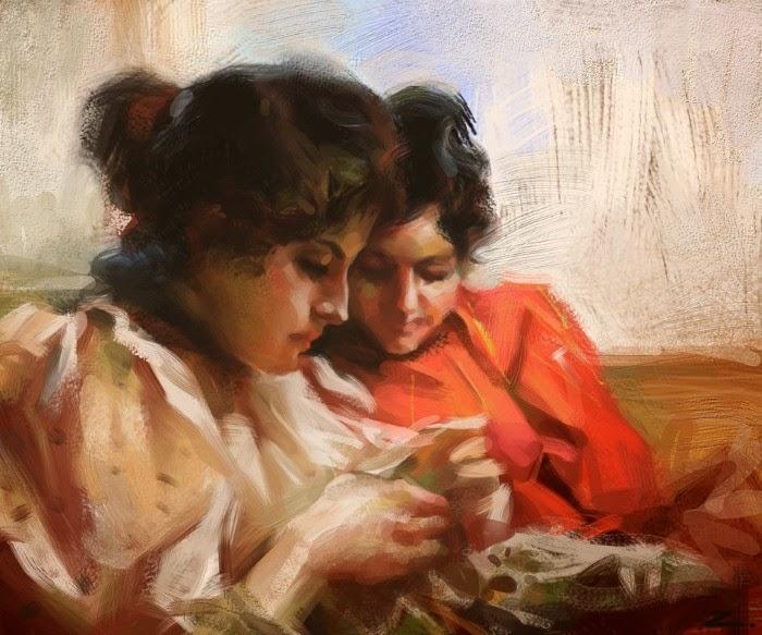 Цифровая живопись. Zhu Haibo