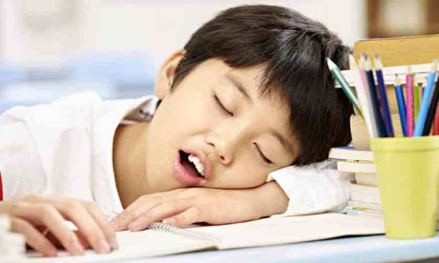 If your child also complains of fatigue then be cautious