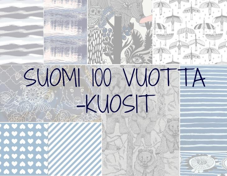 suomi 100 vuotta kuosit