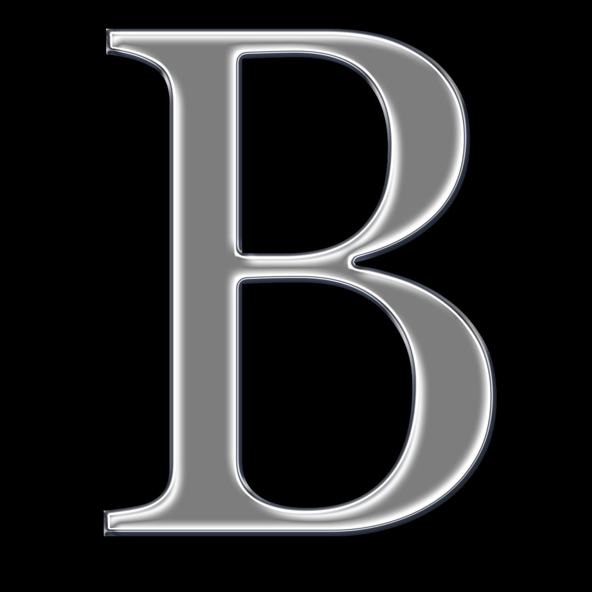 B-Cuz I Can ♥♥♥♥♥♥♥♥: Free Chrome Digi Scrapbook Capital Alphabet