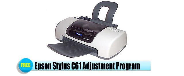Epson Stylus C61 Adjustment Program