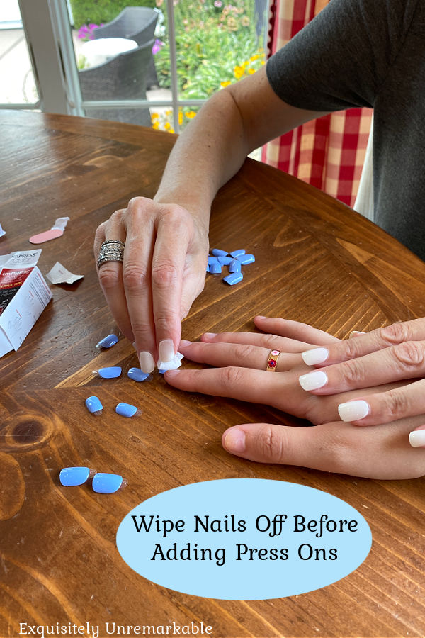 Prepping Nails For Press Ons