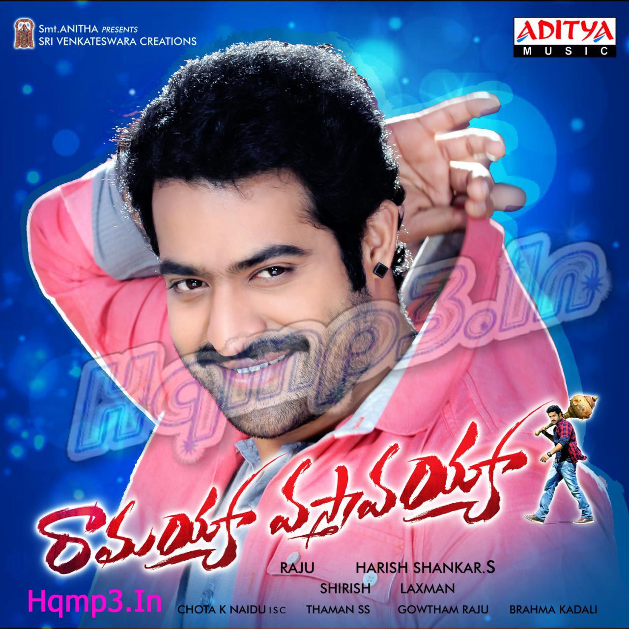 A Telugu Movies Mp3 Songs: Ramayya Vasthavayya Songs [2013] Ntr Telugu Mp3 Songs