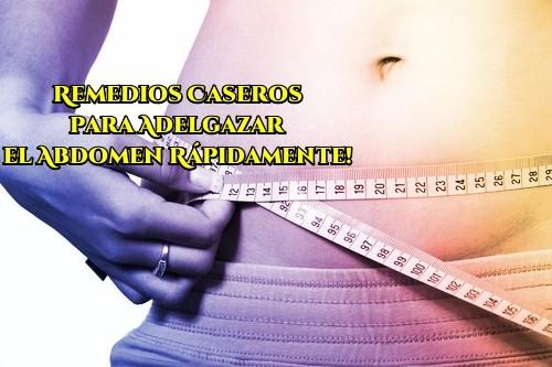 Recetas caseras para adelgazar estomago