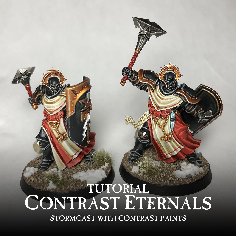 Mengel Miniatures: TUTORIAL: Contrast Eternals