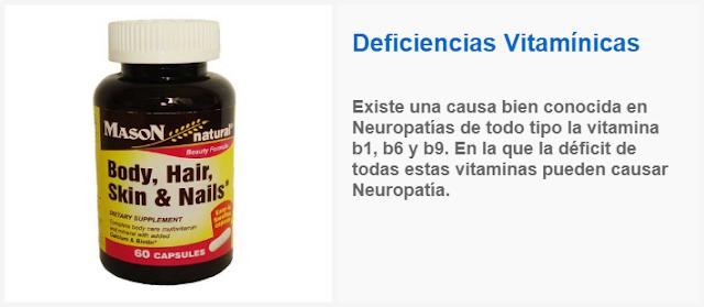 Deficiencias Vitamínicas