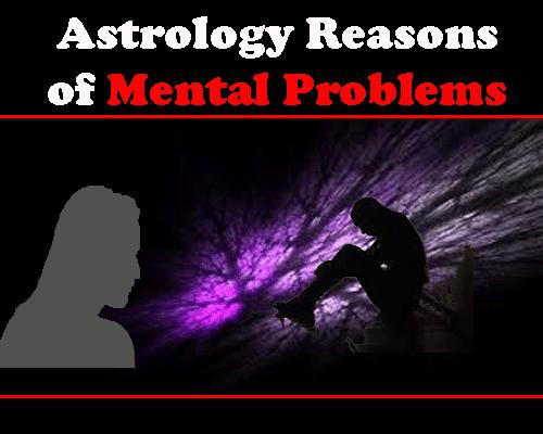 Astrology Reasons of Mental Problem