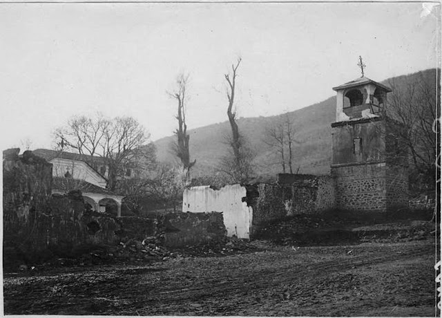 Krstoar Monastery - St. Christopher during the First World War