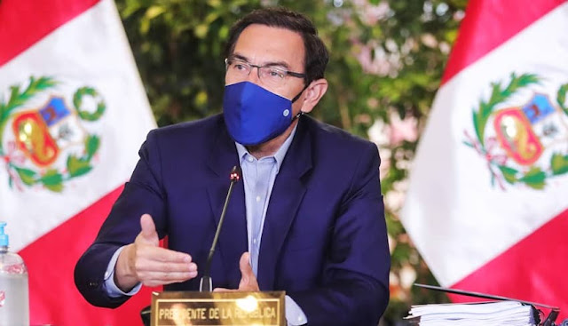 Martín Vizcarra, participó de la sesión de instalación de la Comisión de Alto Nivel de Cambio Climático