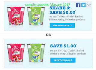 Glade coupons for february 2017