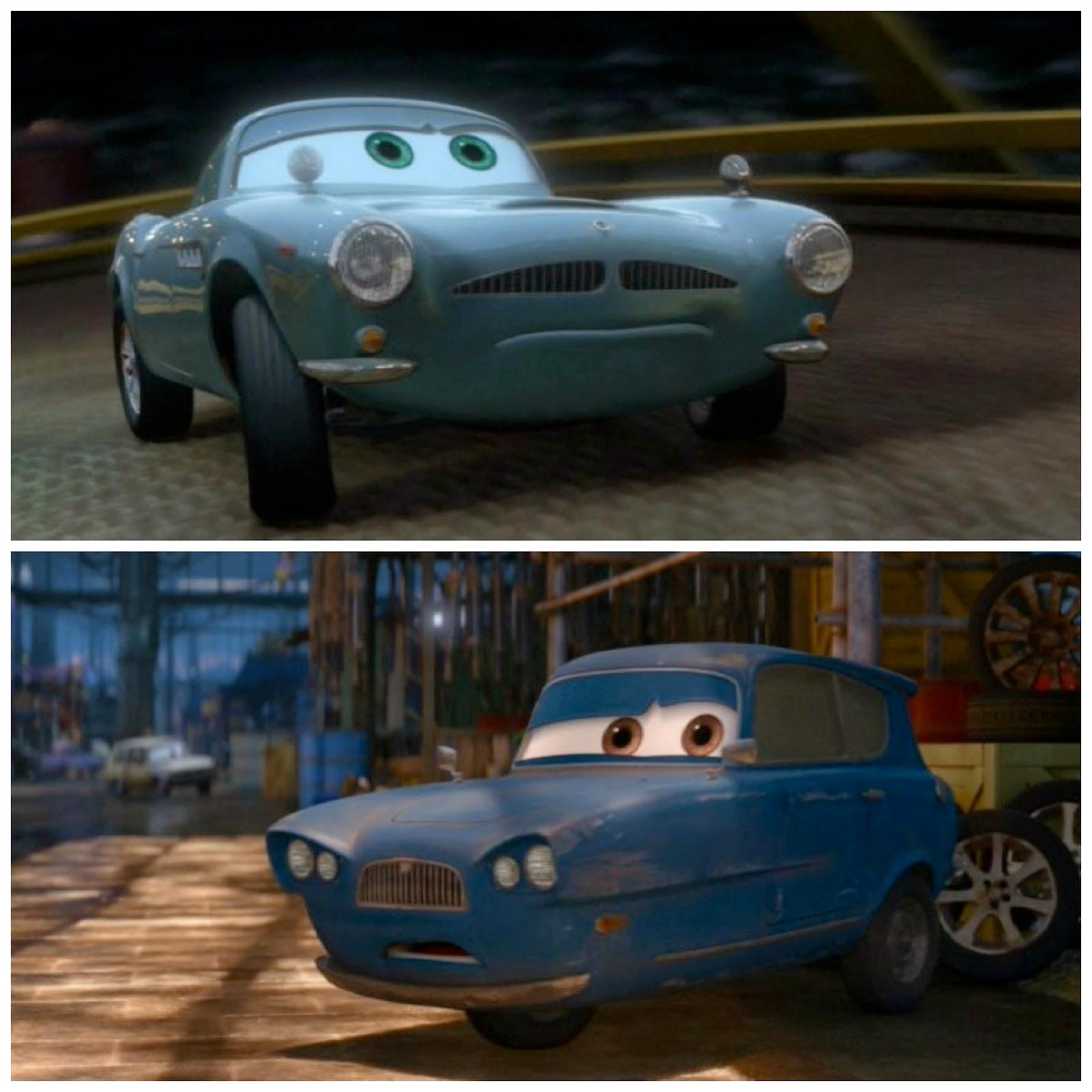 dan the pixar fan cars 2 finn mcmissile and tomber