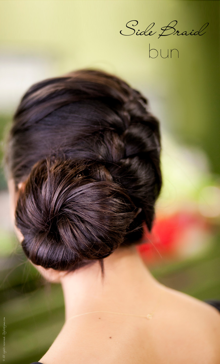29 Elegant Braided Bun Hairstyles