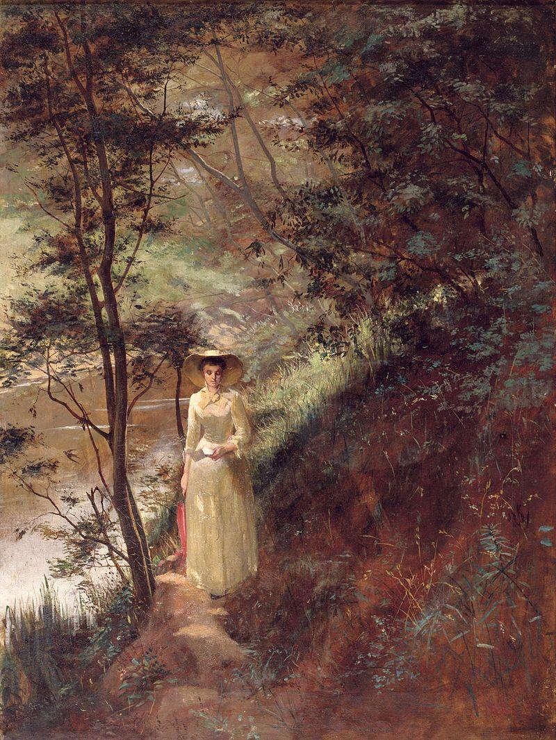 A Carta - Frederick McCubbin e suas principais pinturas ~ australiano