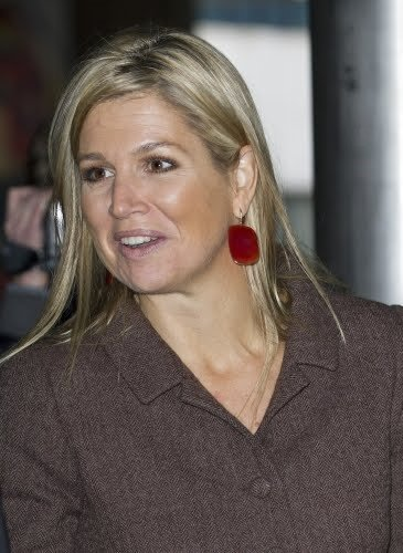 Crown Princess Maxima attends the Small and Medium Sized Enterprises conference (Growing SMEs) in The Hague
