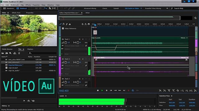 تحميل برنامج Adobe Audition 2020