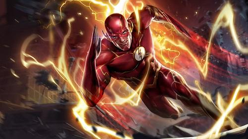Anh hùng Flash giống như khiến cho đối thủ khóc thét vì tốc độ của bản thân mình