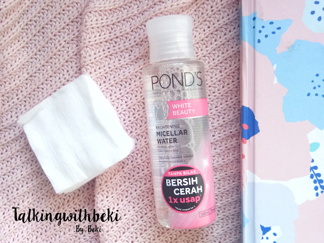 Review Pond's White Beauty Micellar Water