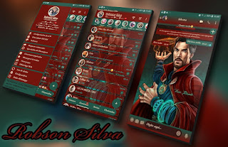 Doctor Strange Theme For YOWhatsApp & Fouad WhatsApp By Robsson