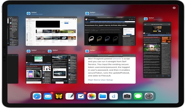 How to Use App Exposé in iPadOS
