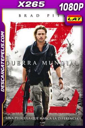 Guerra mundial Z (2013) Unrated Cut 1080p x265 10bit Latino – Ingles